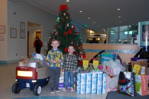 Toothbrush Donation at Rady Children's Hospital