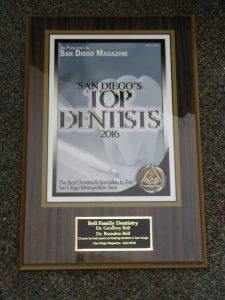 top dentist award 2016 san diego magazine
